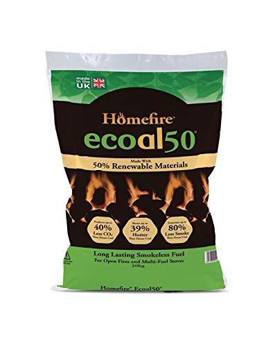 Ecoal 50 Räucherkohle, 20 kg