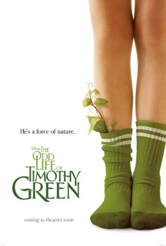 Odd Life Of Timothy Green Poster 11 inches x 17 inches Mini Poster