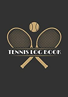 Tennis Log book: Tennis Training Log book | Practice Book for Coaching & Journal to Keep track of your training and improve your player skills | 17 cm ... with analysis tables | Gift for Tennisman.