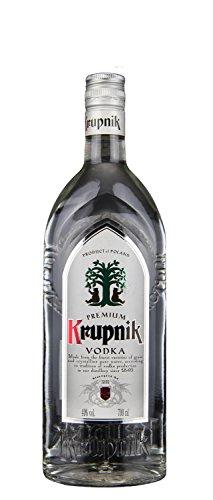 Krupnik Klarer Wodka | Polnischer Traditionswodka | 40%, 0,7 Liter
