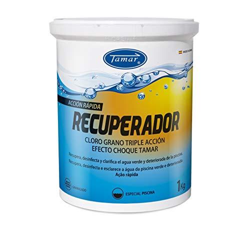 Tamar Cloro Recuperador para Piscinas en Grano, 1 Kilo.