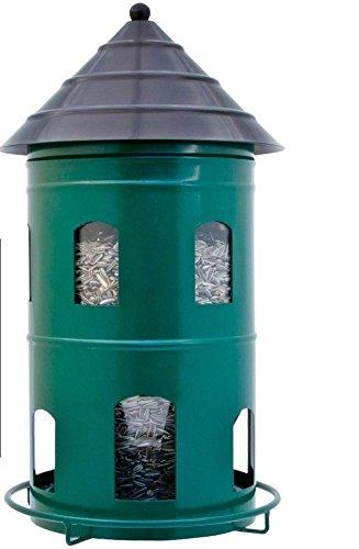 Wildlife Garden Vogelhaus GIGANT FUTTERSTATION Schweden Stil Futterhaus Futterturm grün Multiholk