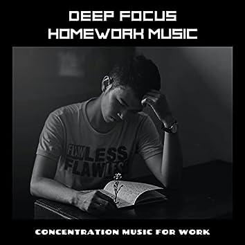 Deep Focus Homework Music