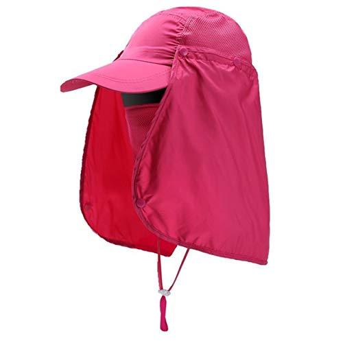 Outdoor Sport Wandern Hut UV-Schutz Gesicht Hals Abdeckung Angeln Sun Protect Cap Cap 360 ° UPF 50+ UV-Schutz Sommer Sonnenhut
