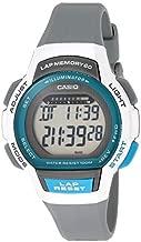 Casio Women's Runner Series Quartz Running Watch with Resin Strap, Black, 19.3 (Model: LWS-1000H-8AVCF)
