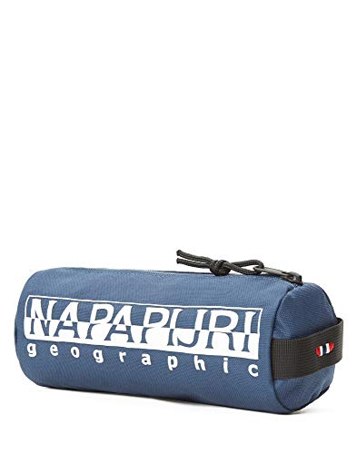 Napapijri Happy Pencil CASE 1 Federmäppchen, 22 cm, Insignia Blue