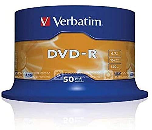 Verbatim Almacenamiento de datos externo DVD-R, Multicolor