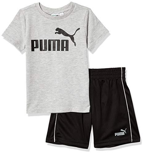 PUMA - Maglietta da ragazzo -  Grigio -  2 Anni
