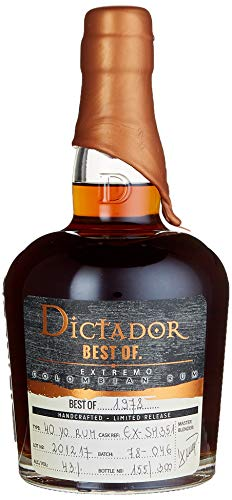 Dictador BEST OF 1978 EXTREMO Colombian Rum Limited Release (1 x 0.7 l)