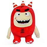 "Oddbods Fuse Soft Stuffed Plush Toys — for Boys and Girls — Red (12"" Tall)"