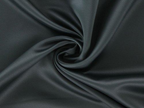 Stoffe Hemmers Verdunkelungsstoff, Dekostoff, Blackout Meterware ab 0,5 m (schwarz)