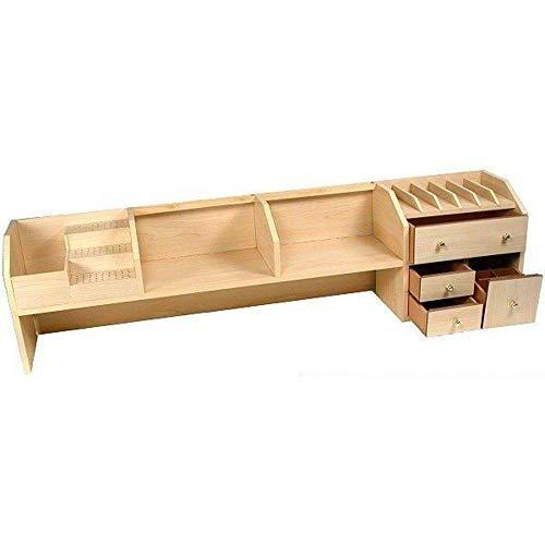 Werkbank, Schreibtischablage, für Juweliere, Uhren, Werkzeug, Organizer oben
