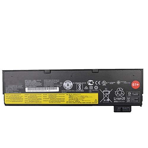 7xinbox 61+ 01AV422 01AV423 SB10K97582 Laptop Battery Replacement for Lenovo ThinkPad T470 T570 T480 T580 P51S P52S Series 01AV424 01AV425 01AV426 01AV427 01AV428 01AV491 (10.8V 48Wh/4400mAh)