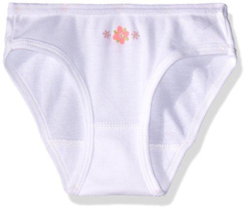 Creysi Girls 00179 Braguita para Niñas, Color Blanco, 4 Años
