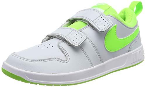 Nike Pico 5 (PSV), Zapatillas Unisex Niños, Gris (Pure Platinum/Electric Green/W 002), 34 EU