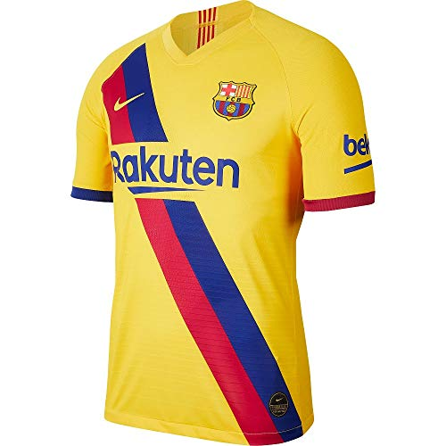 Nike FC Barcelona 2019/20 Stadium Soccer Youth Away Jersey 2019-20 (Kids) (XS-Youth)