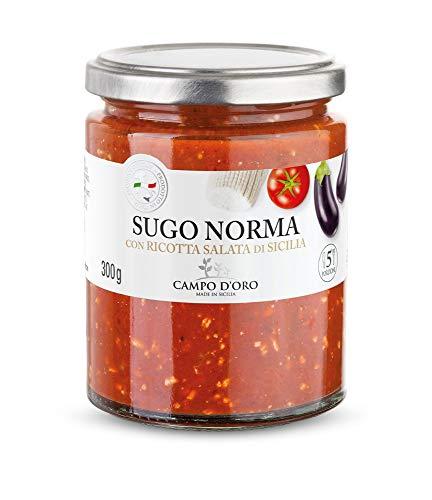 CAMPO D'ORO | SUGO NORMA 300 GR | Specialità siciliane per...