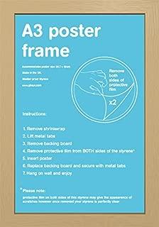GB Eye Oak Frame-A3, 29.7x42cm