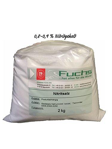Nitritsalz/Pökelsalz 2 kg Beutel 0,8-0,9% Nitritgehalt