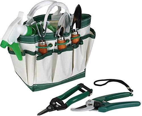 Fiori a righe - Juego de jardinería 18x 15x 11.Idea de regalo elegante, accesorios de jardín, regalo para cualquier evento