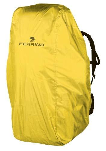 Ferrino - Couvre-sac à dos - Taille Zero 0 - Marque : Ferrino - Couleur : jaune - Idéal pour couvrir les sacs de 15 à 30 litres - En polyester anti-dérapant - Imperméable thermo-isolant.