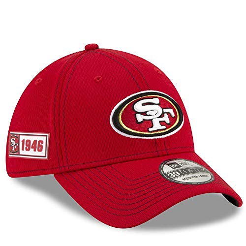 New Era Herren 39Thirty San Francisco 49Ers Kappe, Red, M/L