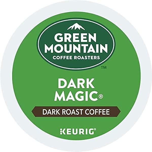 Green Mountain Coffee Dark Magic Keurig Single Serve K Cup Pods Dark Roast Coffee 96 Count