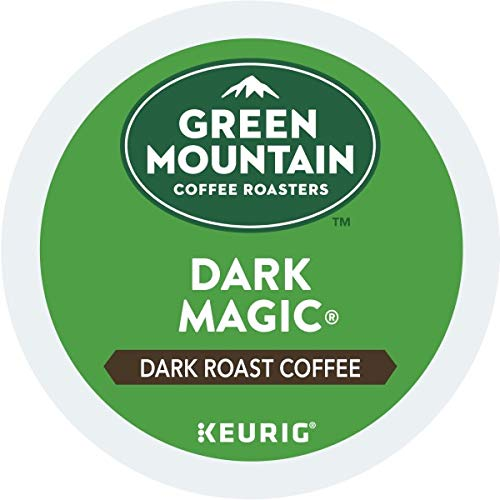Green Mountain Coffee, Dark Magic, Single-Serve Keurig K-Cup Pods, Dark Roast Coffee, 72 Count