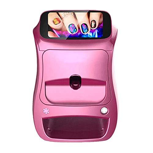 Intelligente 3D Automatico Stampante Per Unghie Per Domestico Salone, Portatile Nail Art Stampante Macchina Supporto Wi-Fi Fai Da Te Nail Design Macchina