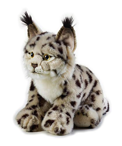 National Geographic- Luchs Peluche, Color Gris-marrón (9770738)