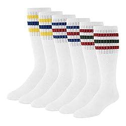 Image of Men's Striped Tube Socks...: Bestviewsreviews