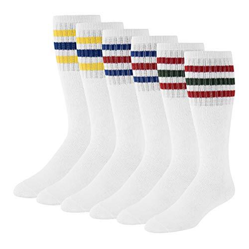 Men's Tube Socks Over the Calf High 24