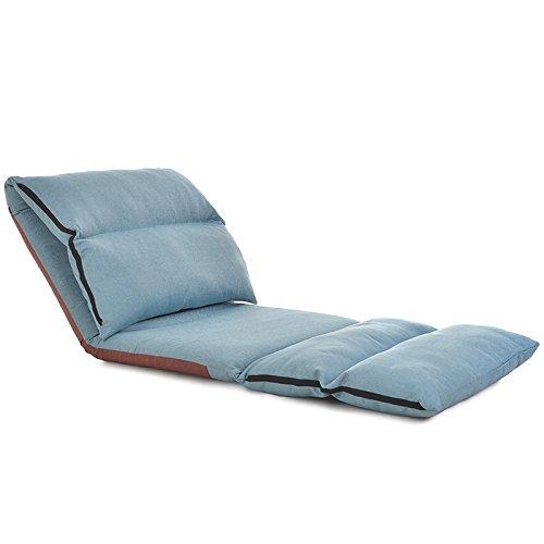 XING-ZI-LAZY-SOFA C-K-P Canapé, Simple rectangulaire Pliant Amovible et Lavable Loisirs Balcon fenêtre Chaise lit Dossier Chaise