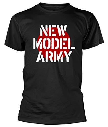 New Model Army 'Logo' (Black) T-Shirt (x-Large)