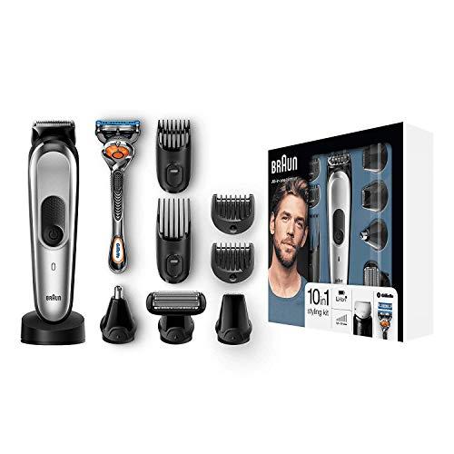 Las mejores recortadoras de barba: Braun MGK7020