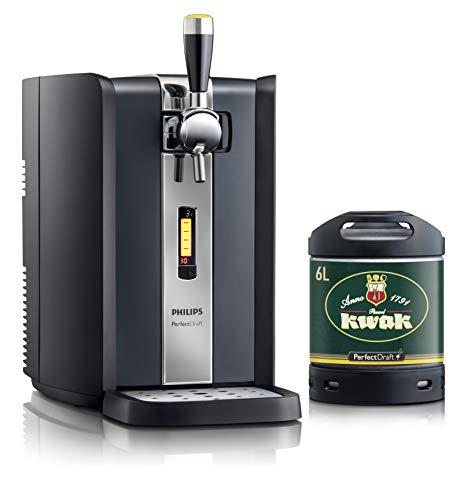 Dispensador de cerveza PerfectDraft de 6 litros. Incluye 1 un barril de 6 litros - Cerveza de trigo. Incluye un depósito de 5 euros. (Pauwel Kwak)