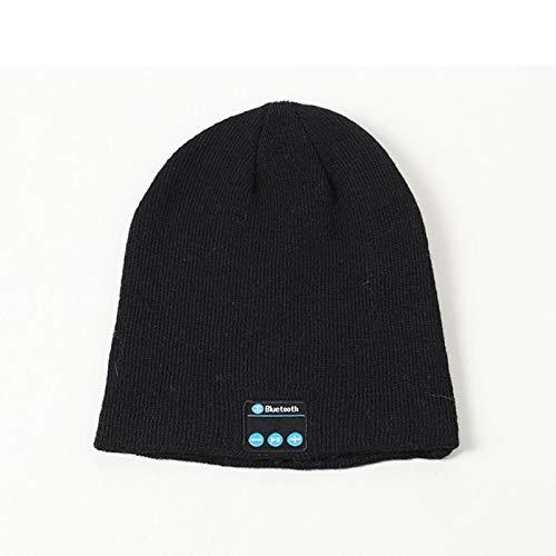 aolongwl Wintermütze Herbst und Winter warm drahtlose Bluetooth Wolle Hut nennen...