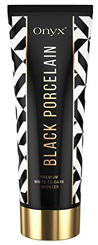 Onyx Black Porcelain Sonnenstudio White-to-Dark Bronzer Tiefe Bräune