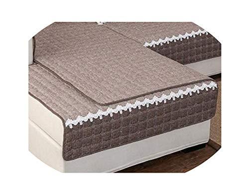 azalea store Caso sofá de algodón Tela de Lino Color sóli