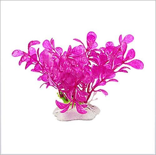 Plastic Kunstmatige Flower Plant Fish Tank Pond aquarium decoratie, Aquarium Decoratie hulpmiddelen