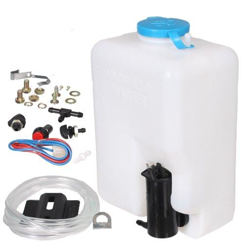 12 V Universal-Scheibenwasch-System / Scheibenwaschanlage / Scheibenwaschpumpe / 1,6 Liter