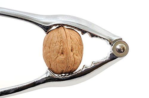 Estilo Heavy Duty Pecan, Nut and Seafood Cracker, Silver