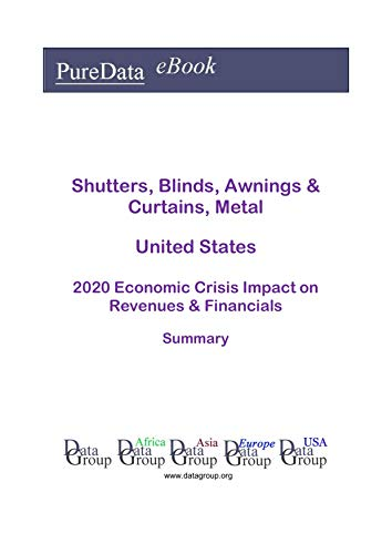 Shutters, Blinds, Awnings & Curtains, Metal United States Summary: 2020 Economic Crisis Impact on Revenues & Financials (English Edition)