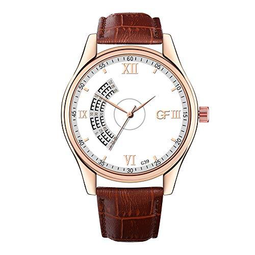 DAYLIN Relojes Más Vendidos Hombre en Amazon Reloj Pulsera de Cuero de Cuarzo Reloj de Marca Automatico para Hombre Oferta Reloj Quartz Analogico Wrist Watch Women Men Regalos