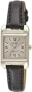 ساعة نساء من اوماكس, جلد, انالوج بعقارب, OMKC6126PB18