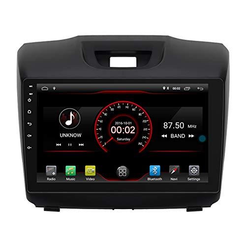 Autosion Android 10 Car DVD Player Sat Nav Radio Headunit Navigation Stereo for Chevrolet S10 Isuzu D-Max 2012 2013 2014 2015 2016 2017 Steering Wheel Control