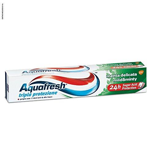 Aquafresh Dentifricio Tripla Protezione Menta Delicata 75 ml