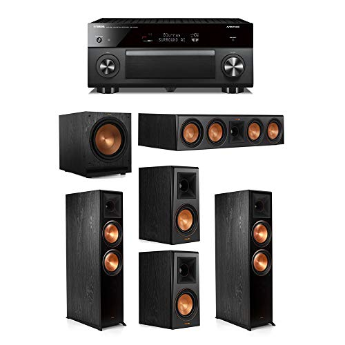 Best Prices! Klipsch 5.1.2 System - 2 RP-8060FA Speakers,1 RP-504C,2 RP-500M Speakers,1 SPL-120,1 RX...