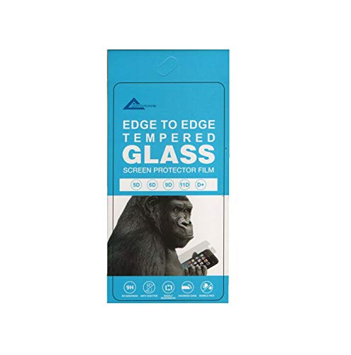 AUROCHS Edge to Edge Tempered Glass Screen Protector for Tecno Spark Power 2 Air (Black)
