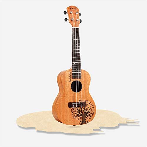 Ning Night 23 Zoll Ukulele Kleine Gitarre Instrument Ukulele Kleine Ukulele Peach Kern Glücklicher Baum Ukulele Sapele Wand Seitenwand
